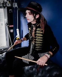Palaye Royale, Emo Bands, Music Bands, Rock Bands, Vampire Kids, Emerson Barrett, Band Pictures, Quirky Fashion, Pierce The Veil