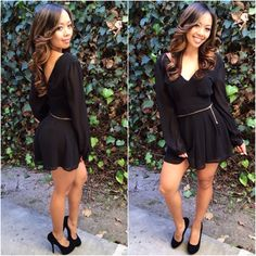 Chic Romper (Black) - $29.99 #FashionNova #Black