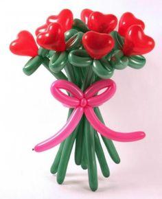 Globo ramo de flores