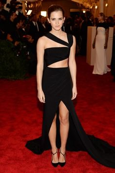 Vogue Daily — Emma Watson in Prabal Gurung and Fred Leighton jewelry
