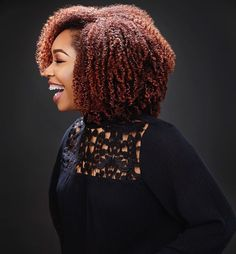 PERFECT WASH N GO... I can try this with gel whenever I decide to grow my hair out...my hair will not look like this without gel...still scared of tangles though