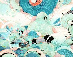 Giclée Fine Art Print Saison 11 x 14 Print von yellena auf Etsy