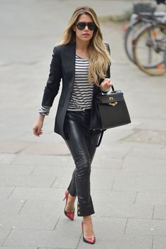 ღღ Sylvie Meis~ love the whole outfit..