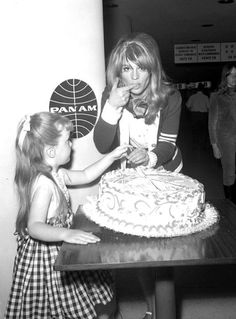 #Sixties | Christie gets her cake and eats it, when she gets back to London following her Oscar win in 1966.