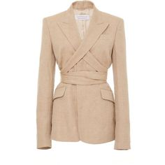 Designer Clothes, Shoes & Bags for Women Wrap, Neutral, Office Fashion, Outerwear Jackets, Blazer Jacket, Casual Wear, Trendy Outfits, Polyvore, Gabriela Hearst