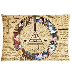 Chetery Funny Gravity Falls Bill Cipher Map Pattern Best Choice Decorate Pillowcase Custom Pillowcase Soft Pillow Case Zippered Pillow Case Cover in Roomy Size 12 x 20 Inches Fashion Design * Quickly view this special deal, click the image : Decorative Pillows