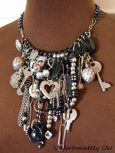 Unfortunately Oh!: Tutorial: Everything Necklace