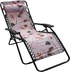 World Famous Sports Jumbo Zero Gravity Lounge Chair Camping Furniture, Camping Chairs, Outdoor Furniture, Famous Sports, Outdoor Chairs, Outdoor Decor, Pink Camo, Furnitures, Zero