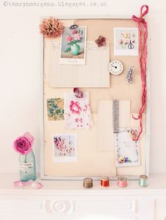 The Villa on Mount Pleasant: Rainy Day Crafts #1 - DIY Vintage Mood Board