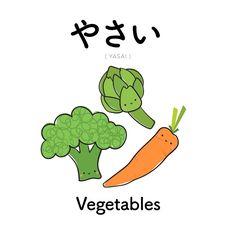 [71] やさい   | yasai  | vegetables