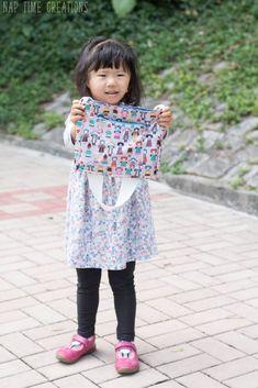 Little Messenger Bag Free Pattern Messenger Bag Patterns, Girls Messenger Bag, Harajuku, Free Pattern, Sewing, Larger, Kids, Projects, Fashion