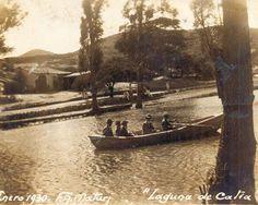 Laguna que existia en Caracas hasta el año 1937 fue urbanizada,. 1930.