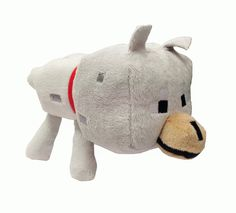 Minecraft 8 inch Baby Wolf Plush Soft Toy: Amazon.co.uk: Toys & Games Minecraft Teddy, Wolf Plush, Piggy Bank, Presents, Lily, Games, Amazon, Toys, Ideas