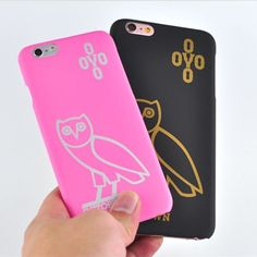 Drake Owl OVO X Air Jordan Plastic  iPhone6/6s Plus iPhone 7/7 Plus case