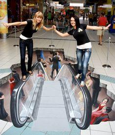 Escalator Illusion -- Curated by Hambleton Galleries | 1290 Ellis Street, Kelowna, BC V1Y 1Z4 Canada | (250) 860-2498