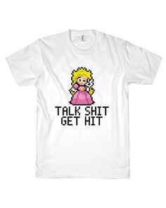 OMG!!!!! Check out what I found on Shop Jeen.com!!! What do you think?!?! TALK SHIT GET HIT TEE