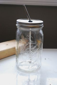 summer drinking jar   Lovely. <3
