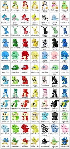 Neopets collectible plush  Gotta collect 'em all! ;)
