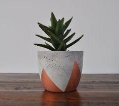 Concrete Planter - Medium