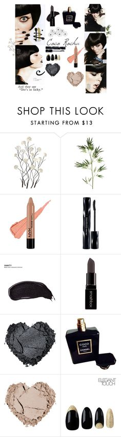 """""""Coco Rocha - Glow October 2010"""" by missamandax on Polyvore featuring Universal Lighting and Decor, Pier 1 Imports, NYX, Shiseido, Urban Decay, Smashbox, Chanel, women's clothing, women and female"""