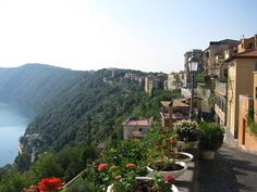 Castel Gondolfo, Italy (the pope's summer residence)