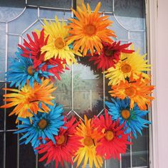 Dollar Store Front Porch Maintenance-Free Flower + Wreath | Hometalk