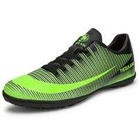 803bcc42f 2018 Size 33-44 Men Boy Kids Soccer Cleats Turf Football Soccer Shoes TF  Hard