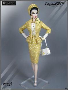 Tenue Outfit Accessoires Pour Barbie Silkstone Vintage Fashion Royalty 1128 | eBay