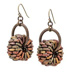 Raise the Bar Earrings | Fusion Beads Inspiration Gallery