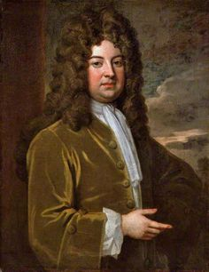 Diplomat Big Wig! Abraham Stanyan, c.1710–1711, by Godfrey Kneller. In 1705 Abraham Stanyan was made envoy to Switzerland, where he served for nearly ten years, publishing a detailed and accurate Account of Switzerland on his return in 1714.  Stanyan's final posting, from 1718 to 1730, was as Ambassador to Constantinople, now Instanbul. His successor Lord Kinnoull spent three months with him there, surviving daily feasts which he said 'almost kill'd me'.