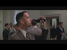 Scena in cui #ForrestGump incontra #JohnKennedy