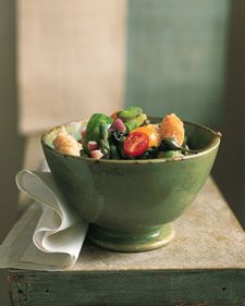 Bikini Boot Camp Approved Recipe: Asparagus Panzanella {so yum!}