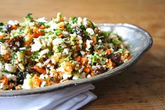Cauliflower Broccoli Slaw Recipe