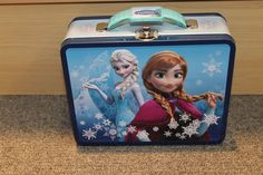 Elsa and Anna Tin lunch box - Frozen - Children's school box - Sisters - New