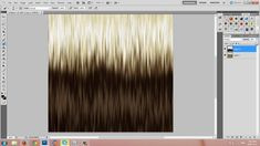 Adobe Photoshop: Ombre Hair Texture Tutorial - IMVU, Second Life, The Si...