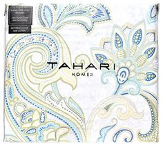 Tahari Home Large Scale Clairy Paisley Full Queen Duvet C... http://www.amazon.com/dp/B01EJYN888/ref=cm_sw_r_pi_dp_gMvvxb18SPXFN