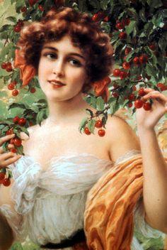Emile Vernon - Under the Cherry Tree