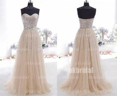 sequin prom dress long prom dress formal prom dress by okbridal, $298.00 - too much for rehearsal?  :)