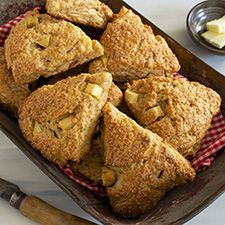Fresh Apple Cinnamon Scones: King Arthur Flour