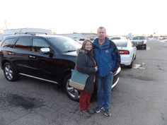 Congratulations to the Ashbaugh's on their purchase of a new Dodge Durango! We appreciate your continued business, and hope you enjoy your new vehicle!