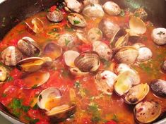 This is an excellent recipe for Linguine con le Vongole (Linguine with Clam Sauce). I found it at epicurious.com where it is credited to Mario Batali. Mario calls for only 1 pound of clams for 4 – …