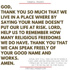 Here's a great batch of 30 thankful prayers for you. We are given so much, often times we focus on what we don't have or what we want, instead of being thankful for all that we have. These 30 short prayers will help you foster a thankful heart. Thankful Prayers, Prayers Of Gratitude, Short Prayers, Good Prayers, Special Prayers, Thankful Heart, Thanksgiving Prayers For Family, Prayer For Family, Prayer For You
