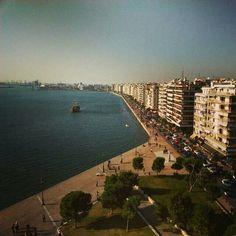 View from the white tower, Thessaloniki. www.thesstips.wordpress.com