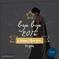 M.A.C. - Bye Bye 2016 #fashion #fabric #textile #tekstil #kumaş #design #style #moda #style #stil #konfeksiyon #apparel #dress #clothing #miyatextile #acartextile #enatextile #mactextile #acartekstil #miyatekstil #mactekstil #enatekstil http://www.mactextile.com.tr/