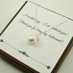 Bridesmaid Jewelry Set of 4 Bridesmaid by StarringYouJewelry on Etsy #etsywedding #bridesmaidgift