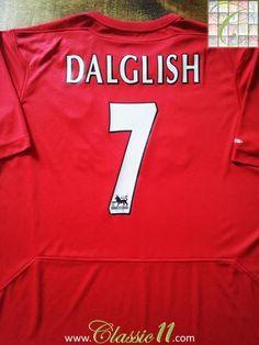 Relive Liverpool's 2004/2005 season with this original Reebok home football shirt.