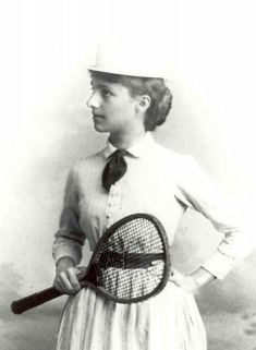 Ellen Roosevelt, first cousin of U.S. President Franklin D. Roosevelt and 1890 U.S. National Singles & Doubles Champion, was inducted into Tennis Hall of Fame in 1975.  #tennis