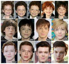 Evolution of Cameron Monaghan