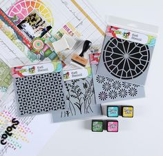 Stencil Kit & Ranger Ink + Exclusive FREE Video Lessons - None