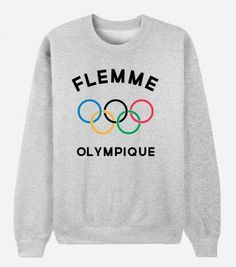 Sweat Flemme olympique